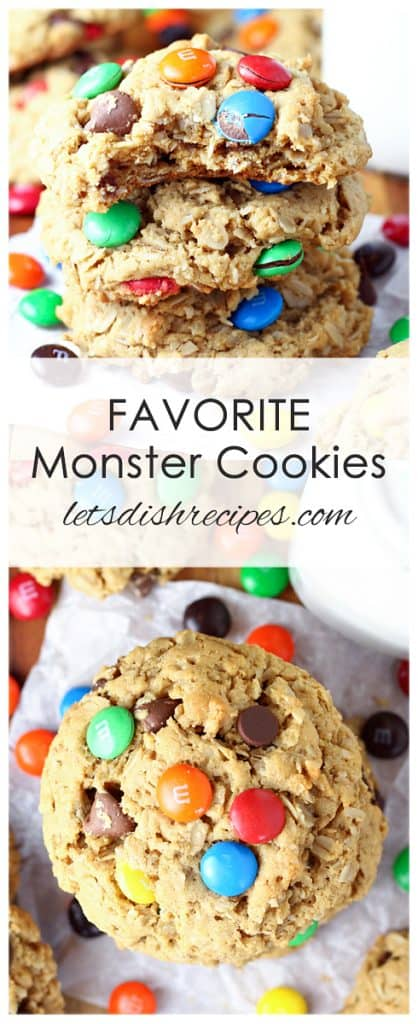 Favorite Monster Cookies