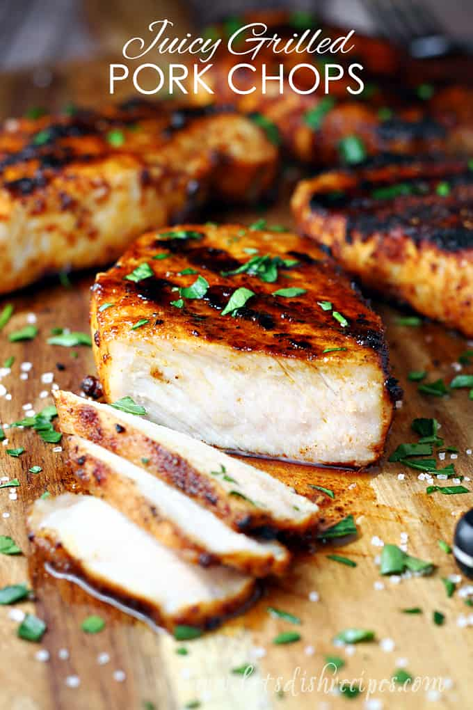 Juicy Grilled Pork Chops Let S Dish Recipes