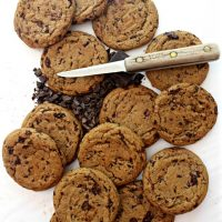Chocolate Chip Molasses Cookies