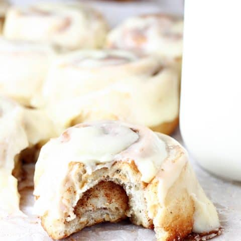 Easy 40 Minute Cinnamon Rolls