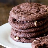 Subway Style Double Chocolate Chip Cookies