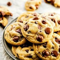 Easiest Half-Batch Chocolate Chip Cookies