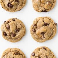 Browned Butter-Cinnamon Dulce De Leche Stuffed Chocolate Chip Cookies