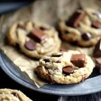 Kit Kat Chocolate Chip Cookies