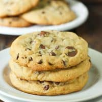 XXL Soft Baked Chocolate Chip Cookies