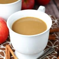 Slow Cooker Butterscotch Caramel Apple Cider