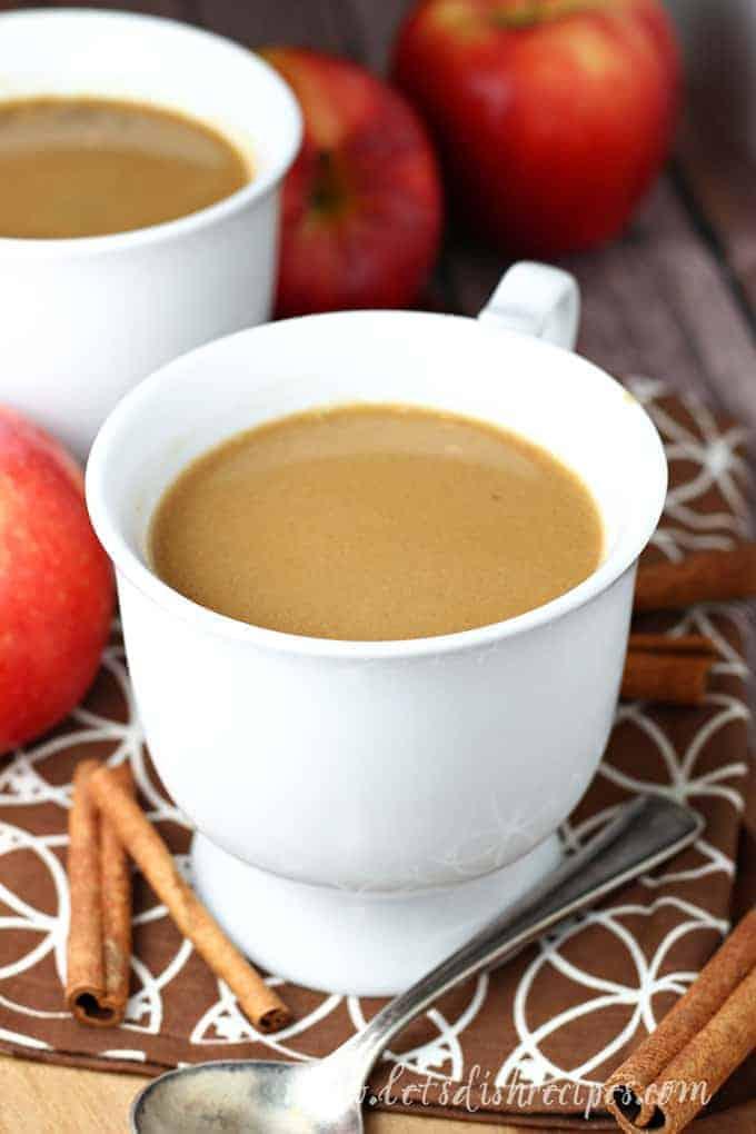 Slow Cooker Butterscotch Caramel Apple Cider