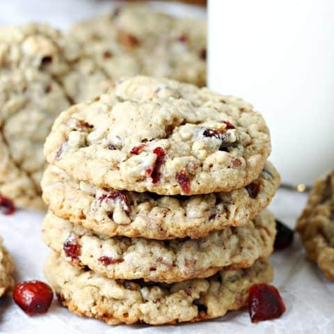 Cranberry Cowboy Cookies