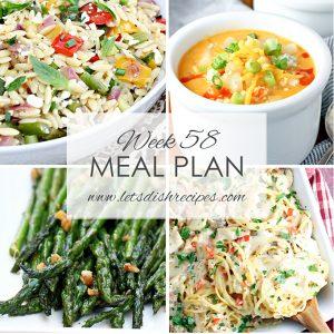 Meal Plan 58