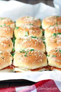 Pepperoni Pizza Sliders