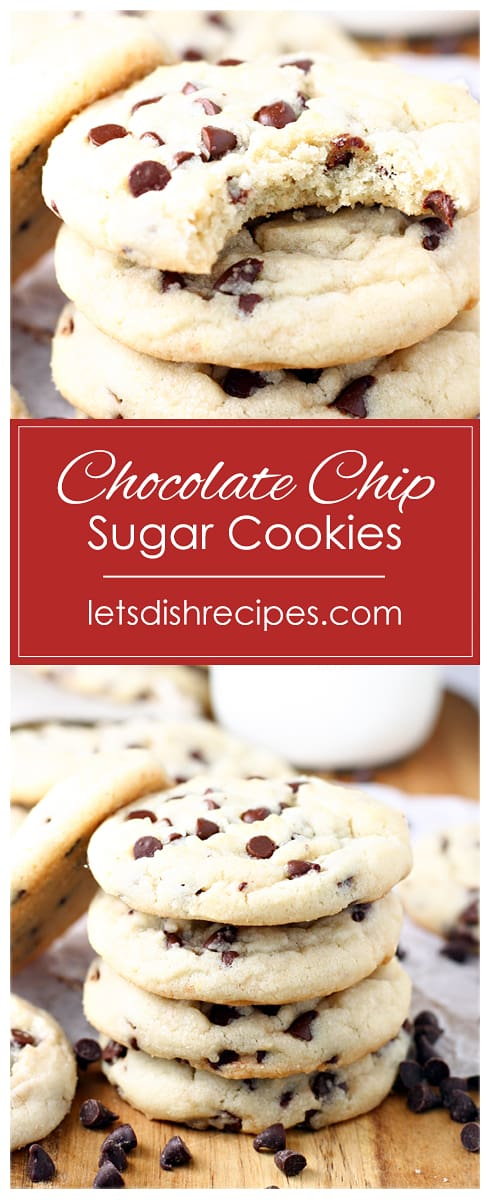 Chocolate Chip Sugar Cookies