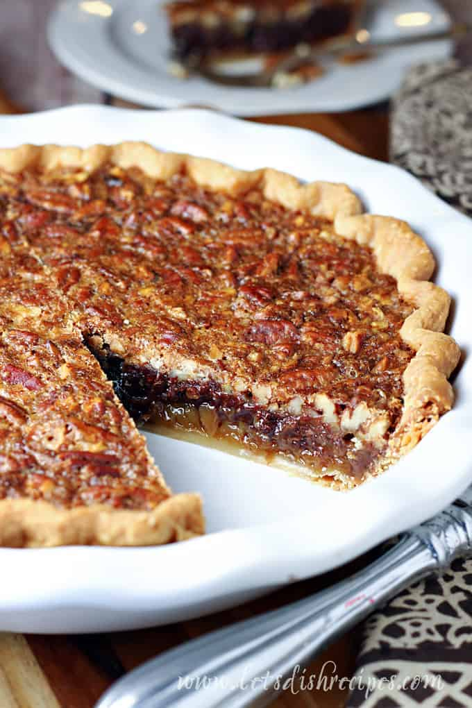 Chocolate Pecan Pie Let S Dish Recipes
