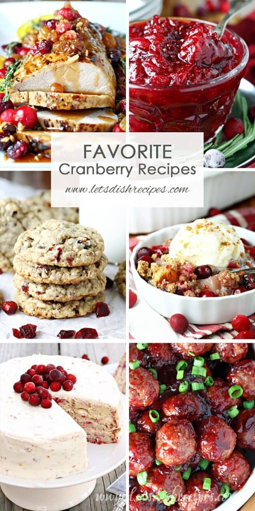 Favorite Cranberry Recipes