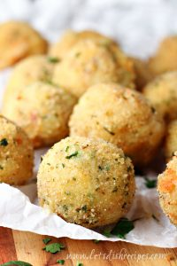 Leftover Mashed Potato Balls