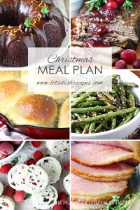 Christmas Meal Plan