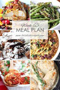 Meal Plan 65