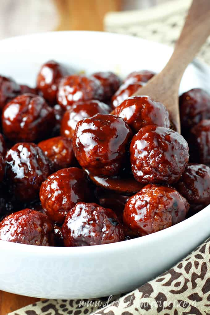 Sweet Chipotle Barbecue Meatballs