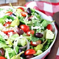 Copycat Panera Greek Salad