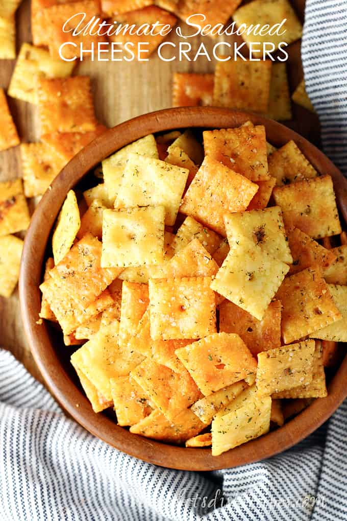 Ultimate Seasoned Cheese Crackers