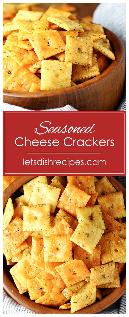 Ultimate Seasoned Cheese Crackers