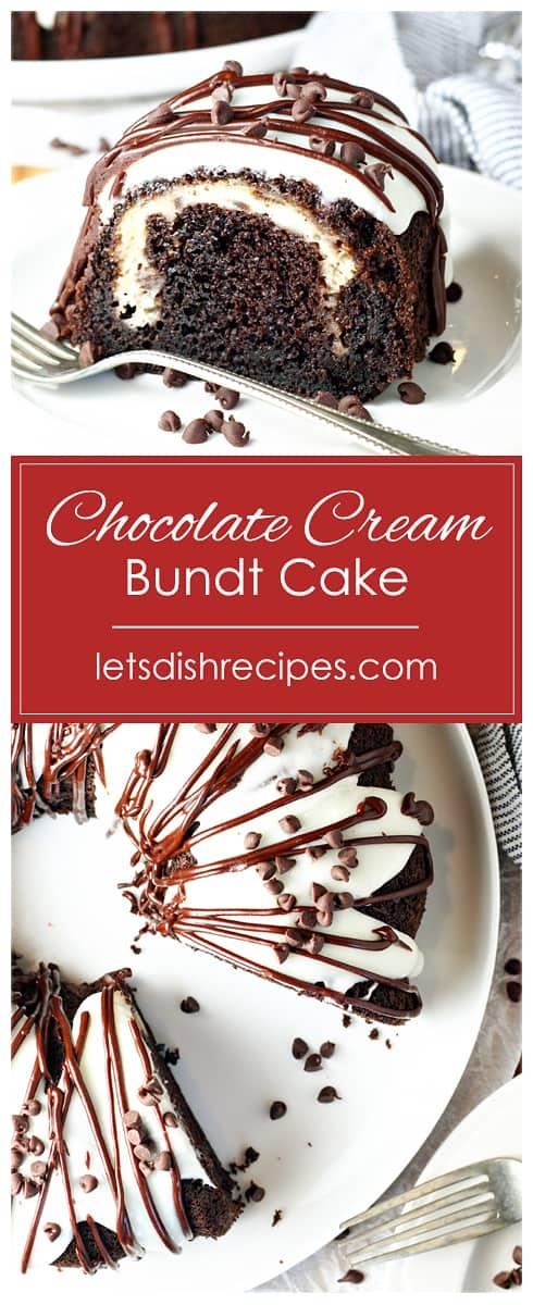 Chocolate Cream Bundt Cake