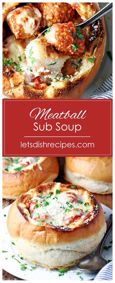 Meatball Sub Soup