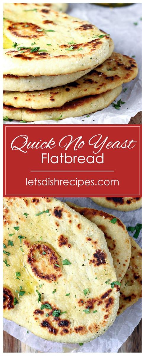 Quick No Yeast Flatbread