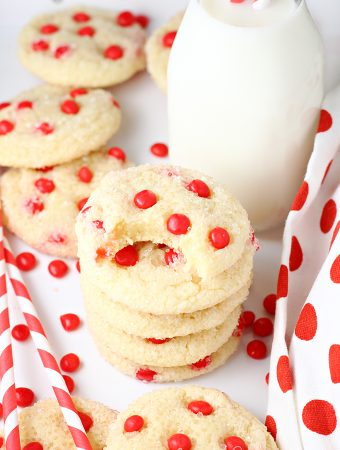 Red Hots Cake Mix Sugar Cookies