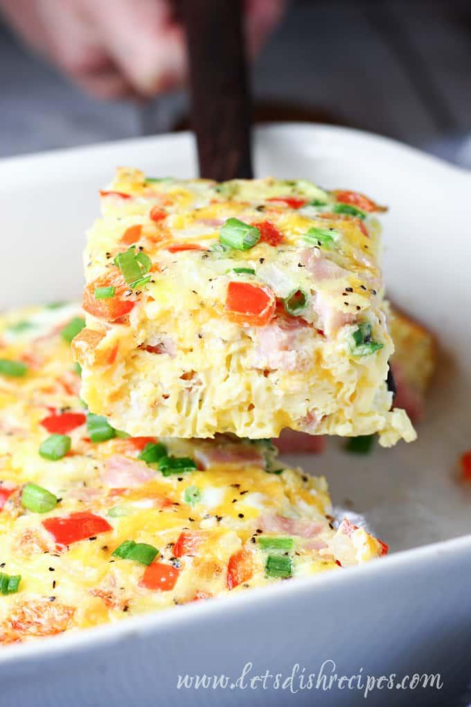 Baked Denver Omelet
