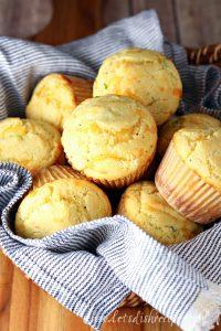 Cheddar Chive Corn Muffins