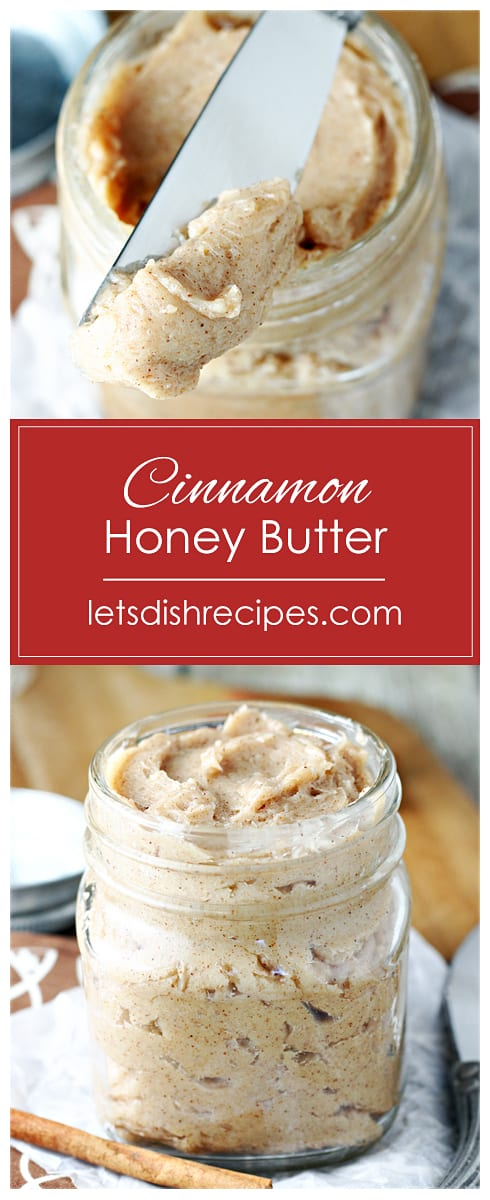 Cinnamon Honey Butter (Texas Roadhouse Copycat Recipe)