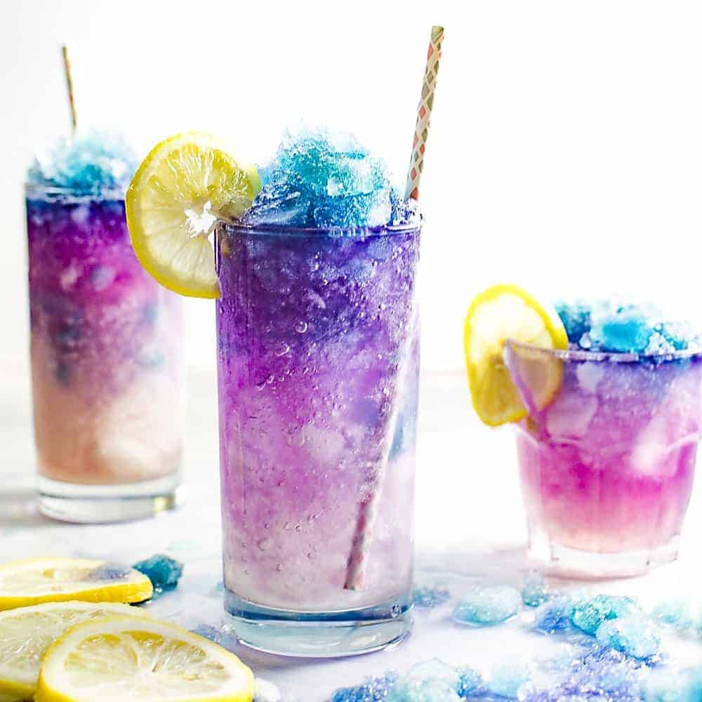 Color Changing Lemonade Slushie