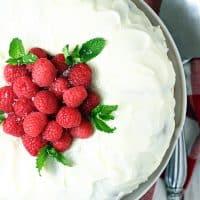 Easy Raspberry Lemon Bundt Cake