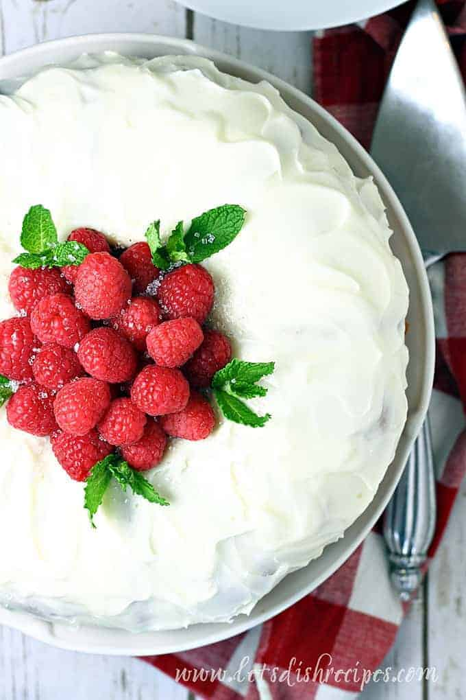 Easy Raspberry Lemon Bundt Cake