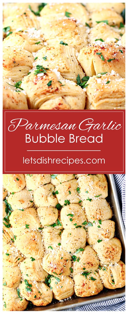 Parmesan Garlic Bubble Bread