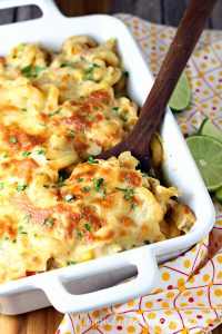 Southwest Chicken Pasta Bake