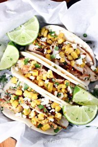 Grilled Chicken Street Corn Tacos