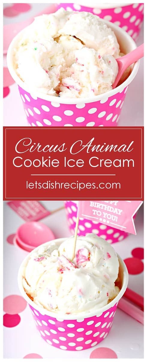 Circus Animal Cookie Ice Cream
