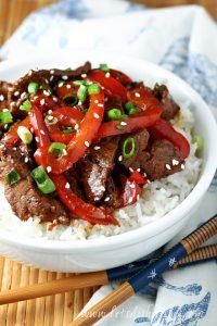 Easy Szechuan Beef
