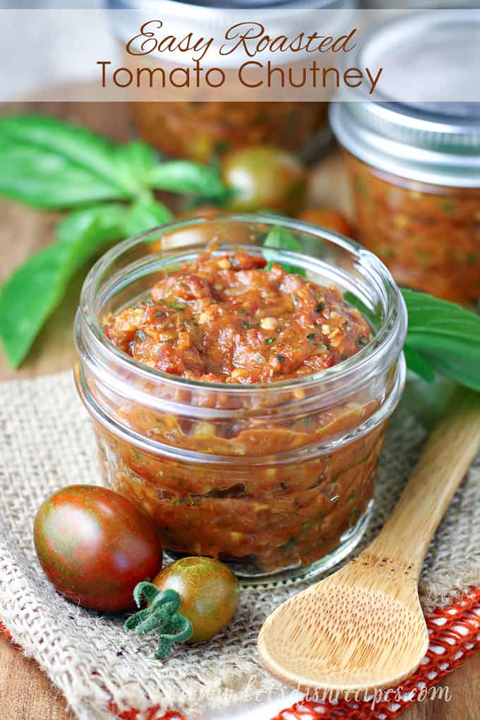 Easy Roasted Tomato Chutney