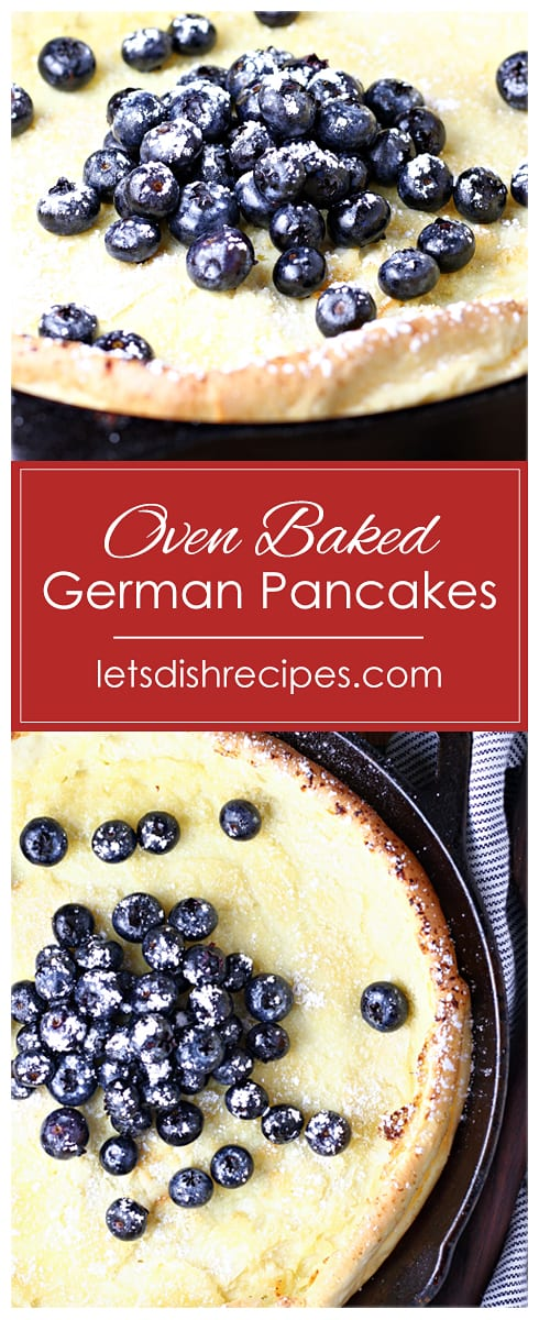 German Oven Baked Pancakes