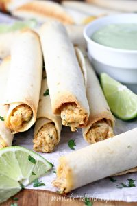Ranch Chicken Taquitos