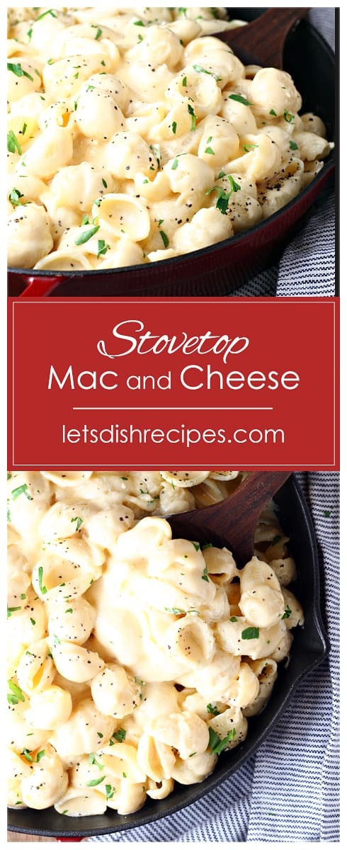 Creamy Stovetop Mac and Cheese