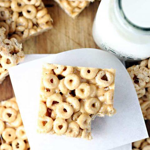 Peanut Butter Cheerios Bars