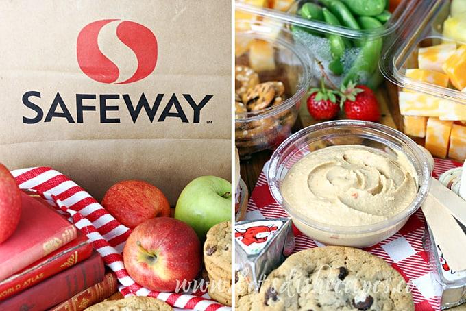 Safeway Lunch Collage