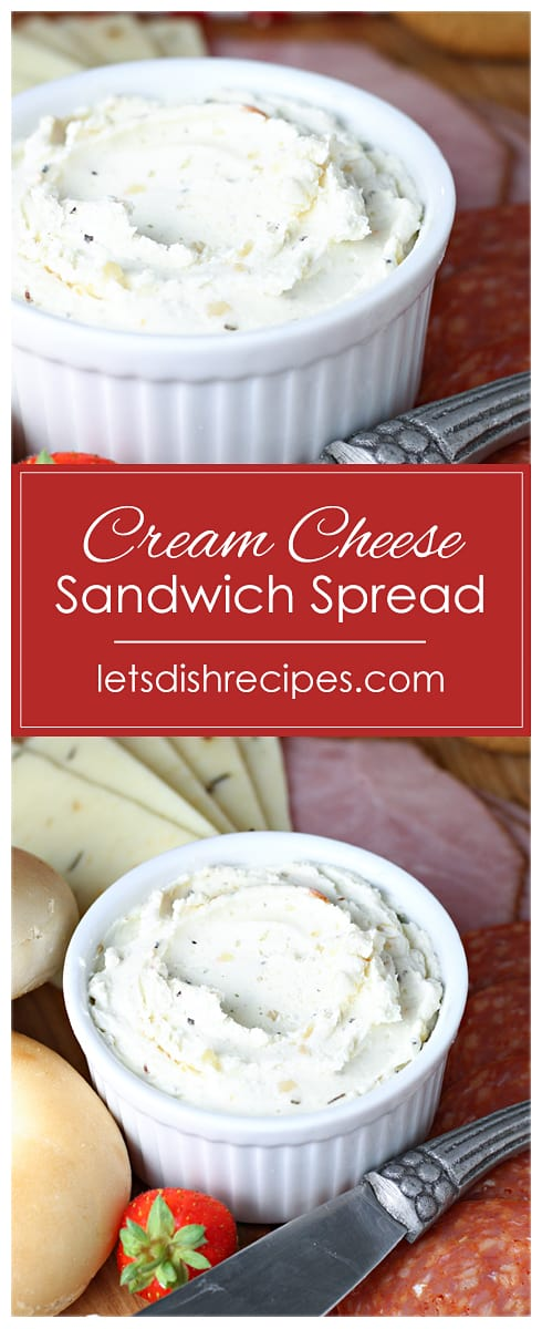 Easy Cream Cheese Sandwich Spread