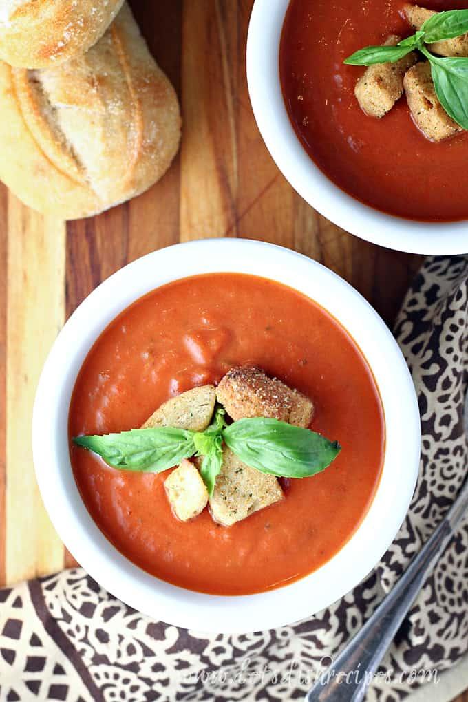 Slow Cooker Tomato Soup