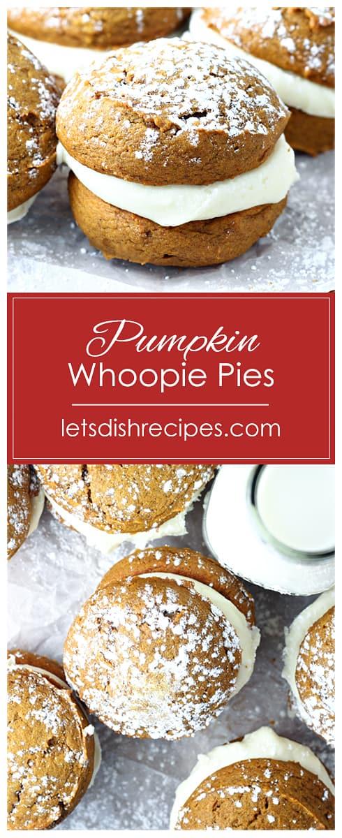 Best Pumpkin Whoopie Pies