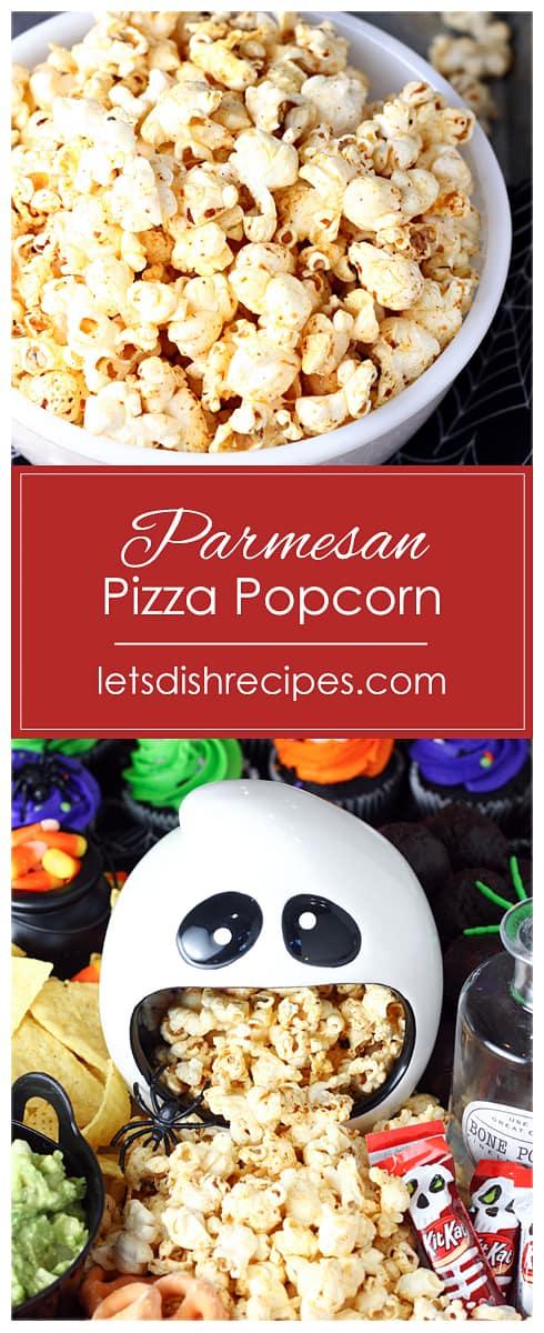 Parmesan Pizza Popcorn