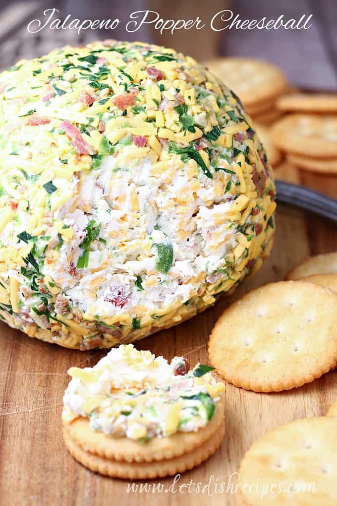 Jalapeno Popper Cheeseball